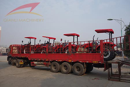 QLN tractor transport, high quality tractors