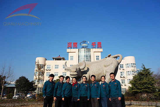 professional service team from Qianli Machinery