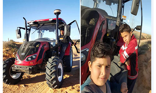 Farm Tractor in Tunisia