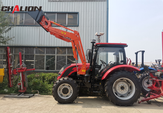 QLN125hp tractor with disc plough