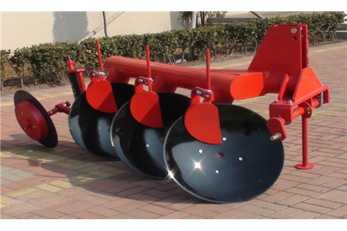 Disc plough (matched from 25hp to 140hp tractor)